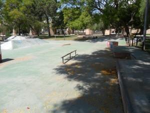 Foto de la vista del skateplaza de Valencia 2