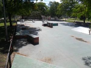 Foto de la vista del skateplaza de Valencia 1