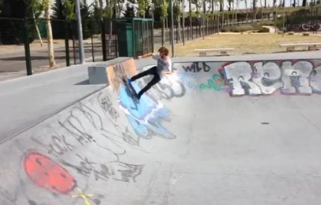 Bowl del skatepark  Boadilla del Monte
