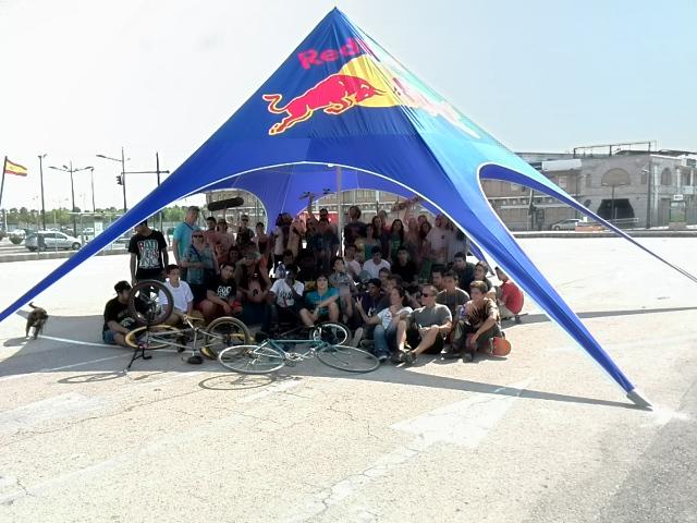 Foto de grupo tras el torneo
