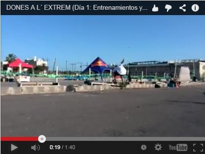 VÍDEOS de los mejores momentos del campeonato de skate de DONES A L´EXTREM
