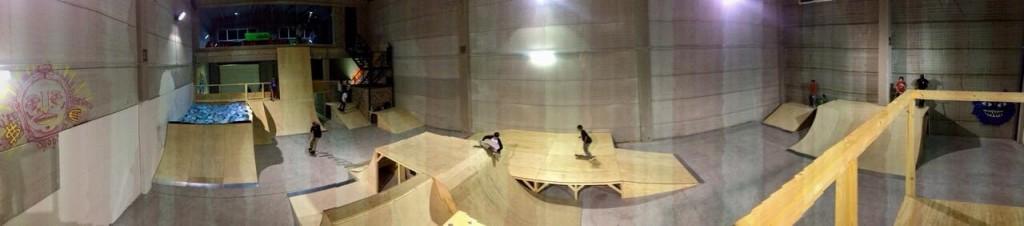 Foto panorámica del Zpark Indoor Bétera