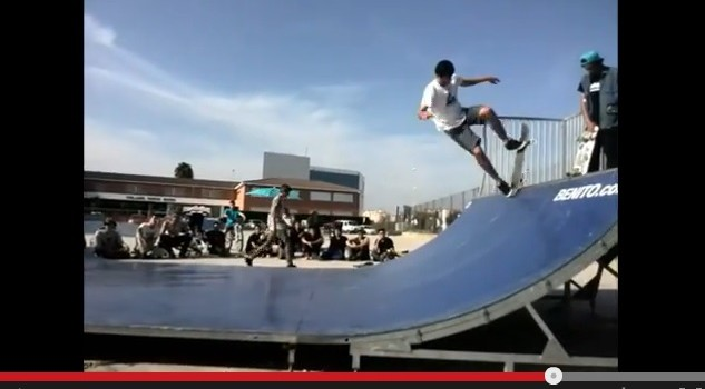 VÍDEO DE LA COMPETICION DE MINI RAMP DE VILLARREAL noviembre 2014