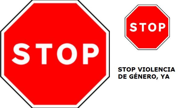 STOP VIOLENCIA DE GÉNERO YA