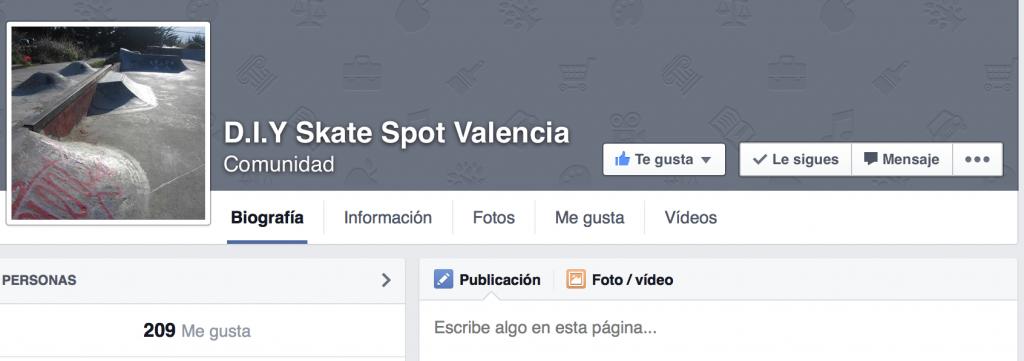 Foto página de facebook Do it Yourself Valencia