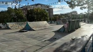 Mini ramps con spine