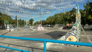 Vista general del Skatepark Torrente