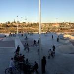 Vista general Skatepark Santa Pola