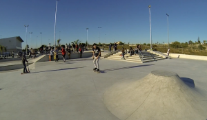 skate rock punk blog of skate best skatepark ever in Valencia