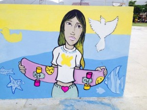 Giselle-Alves-skate-graffiti-memorial-homenaje