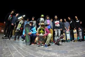 Participantes Skate Jam Gold Dust Jávea (Foto: Juan Carlos Donoso / Berni)