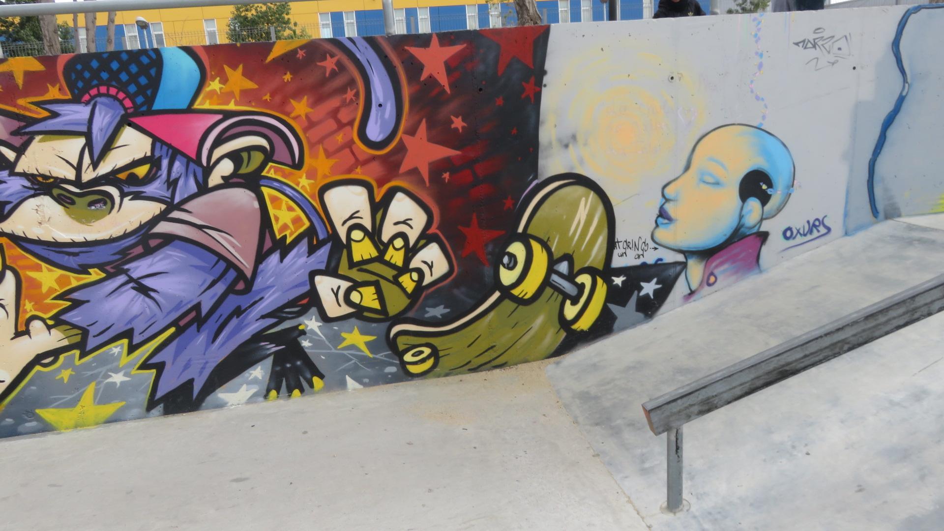 Urban art sex and skate and rocknroll skatepark de figueres graffiti altavistaventures Image collections
