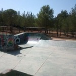 Vista general Skatepark Buñol