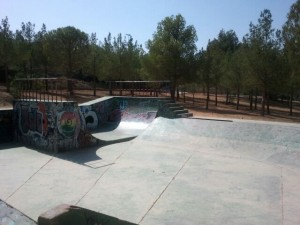 Vista general Skatepark Buñol