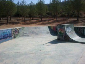 Mini Bowl skatepark Buñol