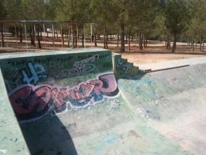 Half pipe Skatepark Buñol