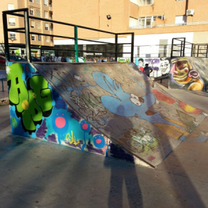 The-simpsons-graffiti-urban-art-skatepark-ramp-paintings