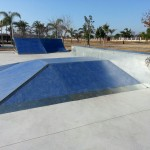 Pirámide, plano inclinado y quarter Rafelbuñol skatepark