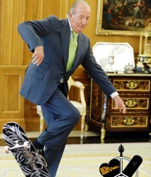 El-rey-de-españa-abdica-para-patinar-skate-sex-and-skate-and-rocknroll-ollie-del-rey-