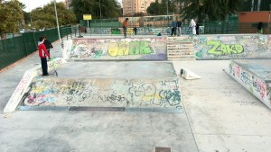 Vista general Skatepark Murcia