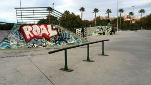 Rail skatepark Murcia