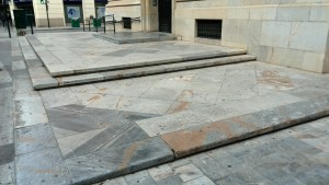 spot patinable en Murcia capital-skateboard