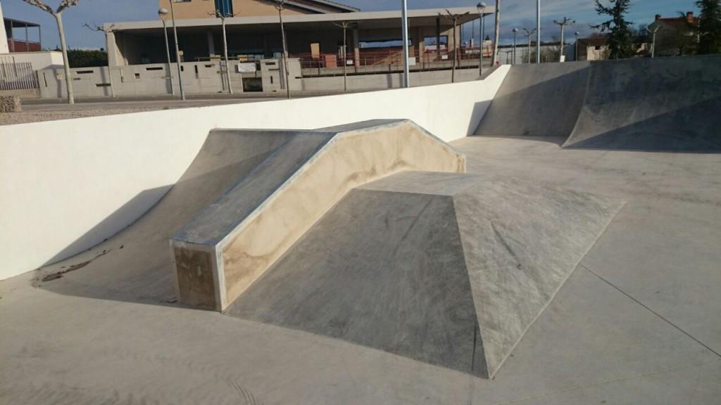 Pirámide Skatepark Santa Bárbara