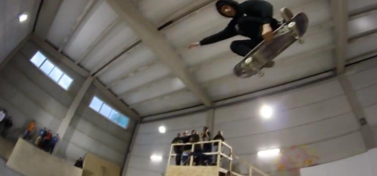 grab de Lucas Amador en el vídeo de la competi de ZPark