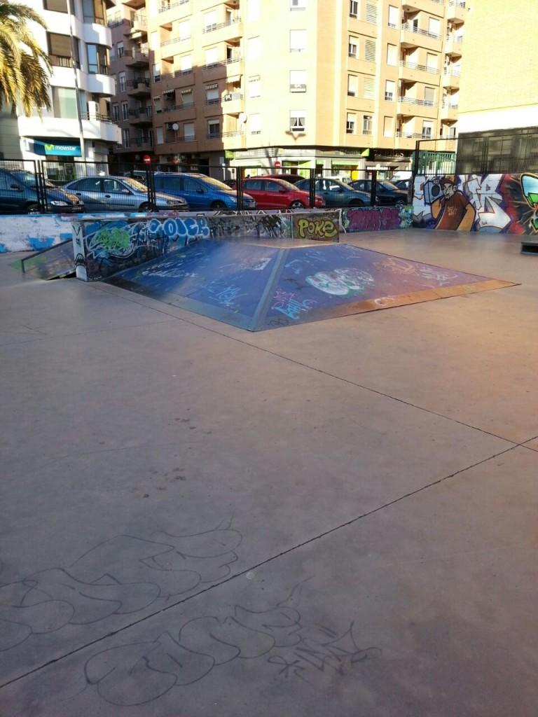 Pirámide La Vall d´Uixó skatepark