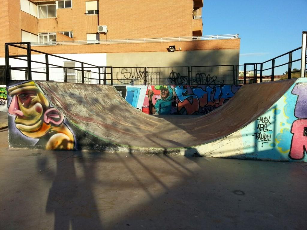 Mini ramp skatepark La Vall d´Uixó