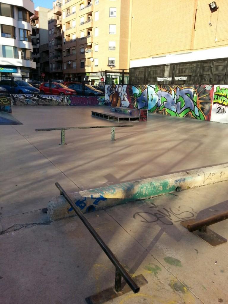 Rails La Vall D´Uixó skatepark
