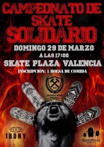 cartel-campeonato-solidario-skateplaza-valencia-sex-and-skate-and-rocknroll-cinquanta-skateshop-irony-skateboards