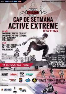 Cartel del evento Active Extreme