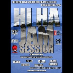 Hi Ha skateboarding Jam Session Beteró skatepark