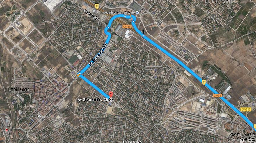mapa-localización-cómo-llegar-skatepark-L´eliana-valencia.