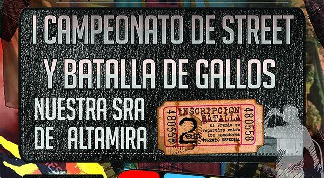 MIRANDA DE EBRO celebra el I CAMPEONATO DE STREET y BATALLA DE GALLOS