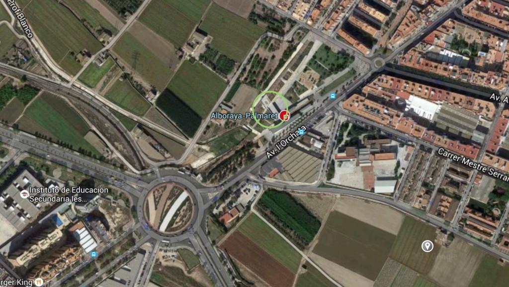 Cómo llegar al skatepark de Alboraia