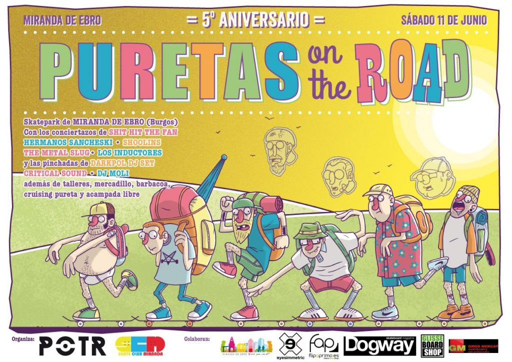 cartel-Puretas-on-the-road-11-de-junio