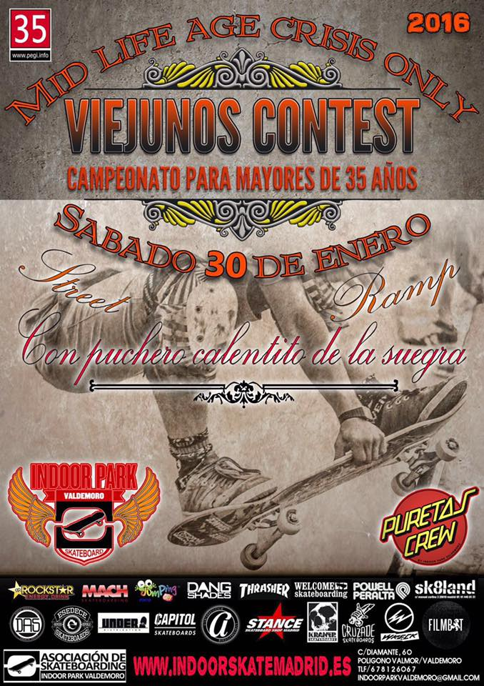 cartel-viejunos-contest-valdemoro-indoor