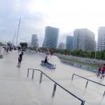 Foto-panorámica-skatepark-Forum-Barcelona-BCN-street