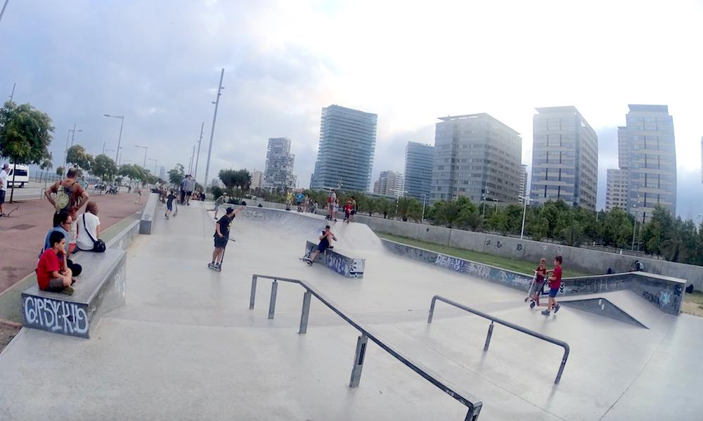 foto-skatepark-forum-BCN-Barcelona-street-skateboarding