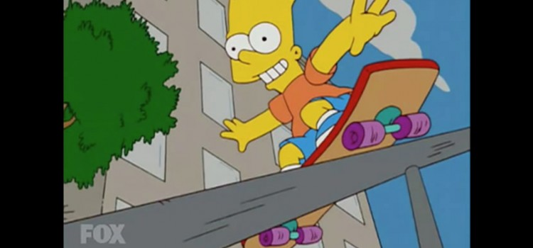 The SIMPSONS – Las mejores escenas de skateboarding