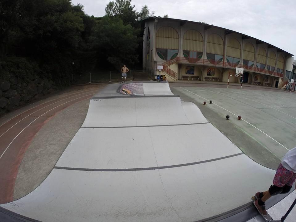 Skatepark Getaria (Guipuzkoa)