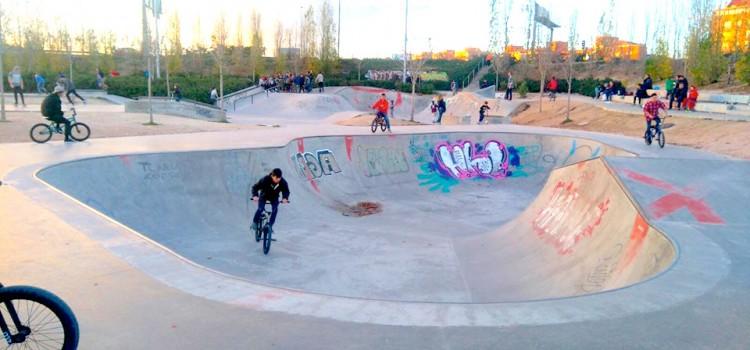 Skatepark de Madrid LEGAZPI