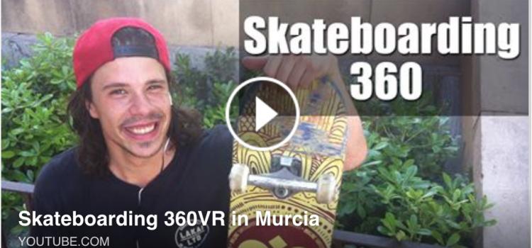 Vídeo de skate con cámara de 360º