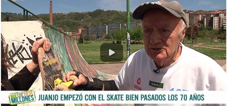 ENTREVISTA A JUANJO EL SKATER DE 79 AÑOS