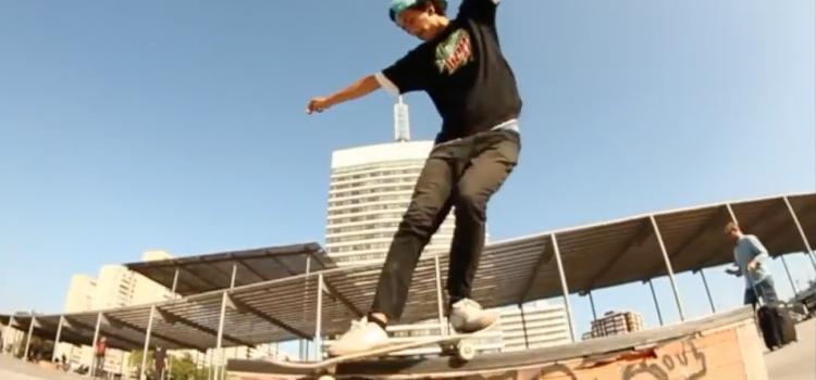 Recopilación de vídeos nacionales de skate 2016