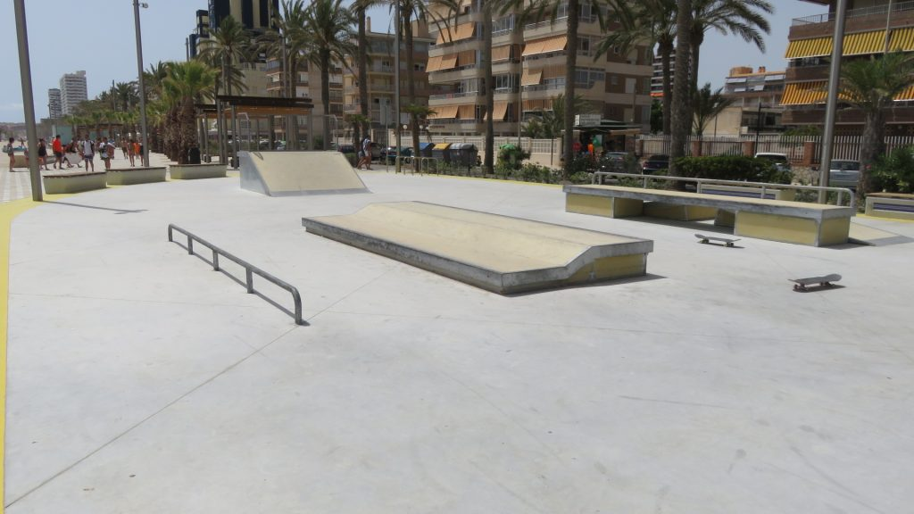 Skatepark San Juan de Alicante-1