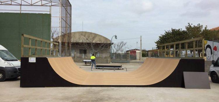 Skatepark de Fortaleny (Valencia)