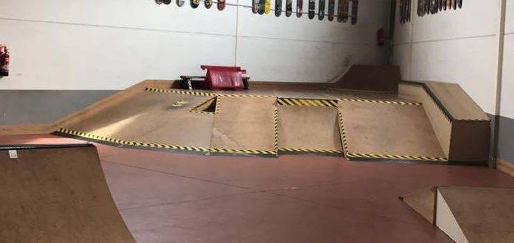 INPARK VALDEMORO. Skatepark indoor de madera en Madrid